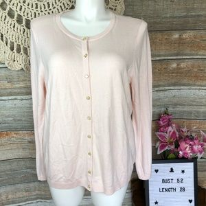 Talbot's Quality Pale Pink Sweater 3x